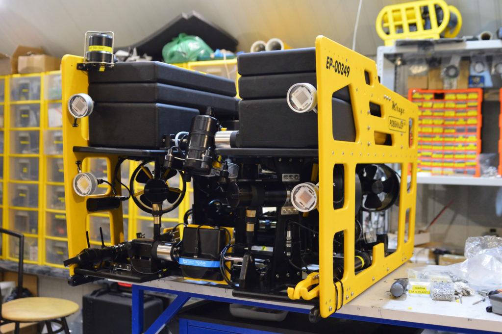 Подводный аппарат РБ-Мираж 1000